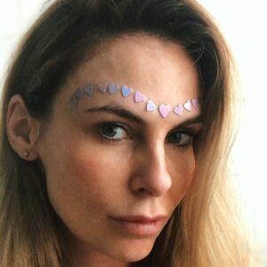 Souldja face gem tattoo body gliotzer sticker glitter