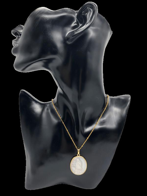 virgen de guadeoupe maria talisman kette necklace