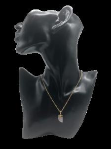 kette halskette gold quarz stein souldja