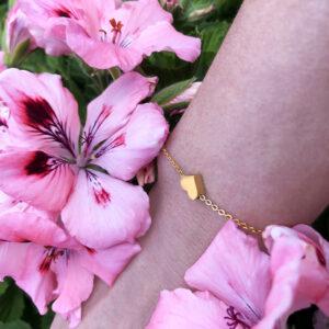 souldja armband armreifen schmuck herz armkette