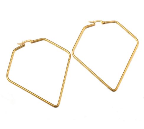 hoops ohhringe diamond shape