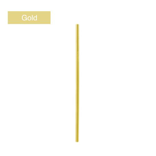 edelstrohhalm gold trinkhalm metal